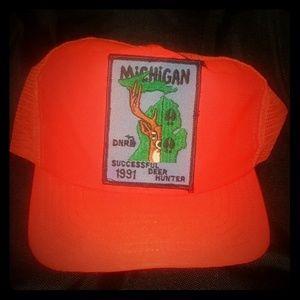 Vintage (1991) Michigan Hunting Trucker Hat